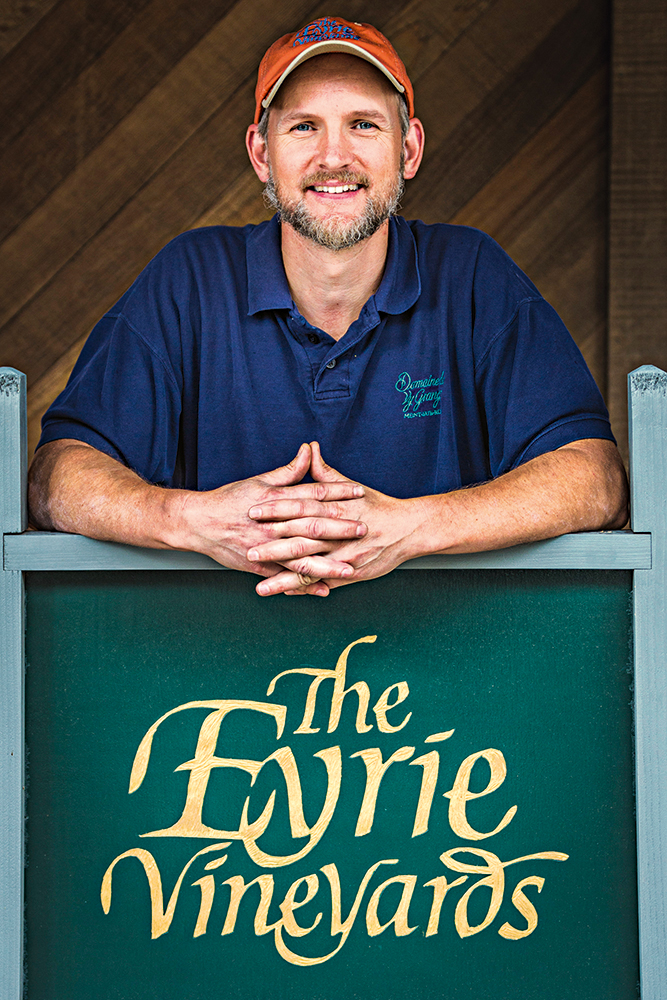 Jason Lett, da Eyrie Vineyards